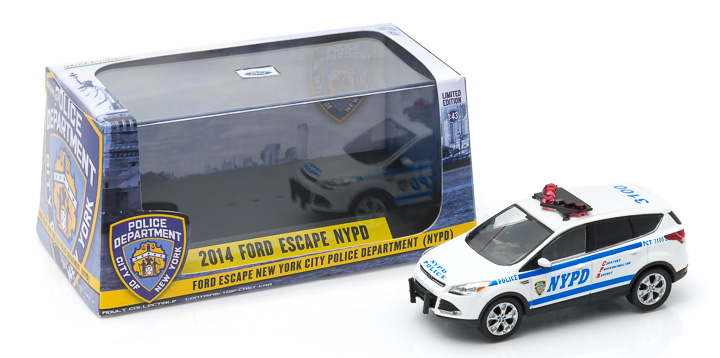 1:43 2014 Ford Escape - New York City Police Department (NYPD)