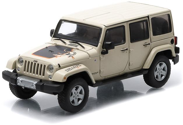 1:43 2011 Jeep Wrangler Unlimited - Mojave Edition - Sahara Tan