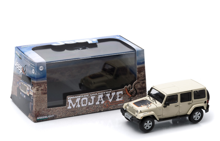 1:43 2011 Jeep Wrangler Unlimited - Mojave Edition - Sahara Tan