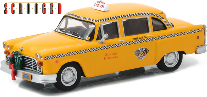 1:43 Hollywood - Scrooged (1988) - 1978 Checker Taxicab