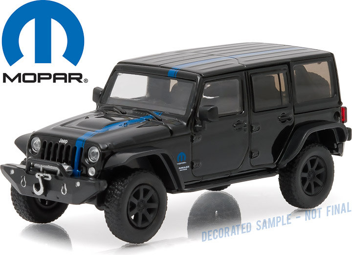 1:43 2014 Jeep Wrangler Unlimited MOPAR Edition - Apache Tribute