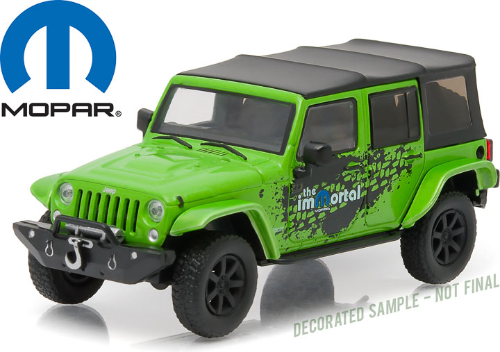 1:43 2014 Jeep Wrangler Unlimited MOPAR Edition - The Immortal Tribute