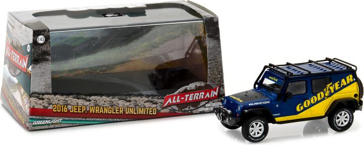 86080 - 1:43 2016 Jeep Wrangler Unlimited - 2016 Jeep Wrangler Unlimited