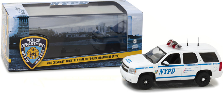 86082 - 1:43 2012 Chevrolet Tahoe New York City Police Dept (NYPD)