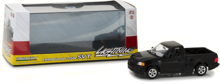 86085 - 1:43 1999 Ford F-150 SVT Lightning - Black