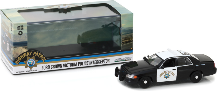 86086 - 1:43 2008 Ford Crown Victoria Police Interceptor California Highway Patrol
