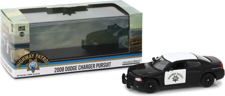 86087 – 1:43 2008 Dodge Charger California Highway Patrol