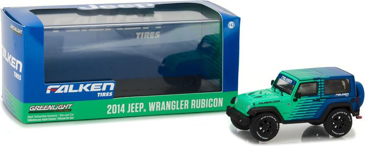 86090 - 1:43 2014 Jeep Wrangler Rubicon - Falken Tire
