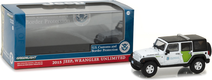 86091 - 1:43 2015 Jeep Wrangler Unlimited - U.S. Customs and Border Protection
