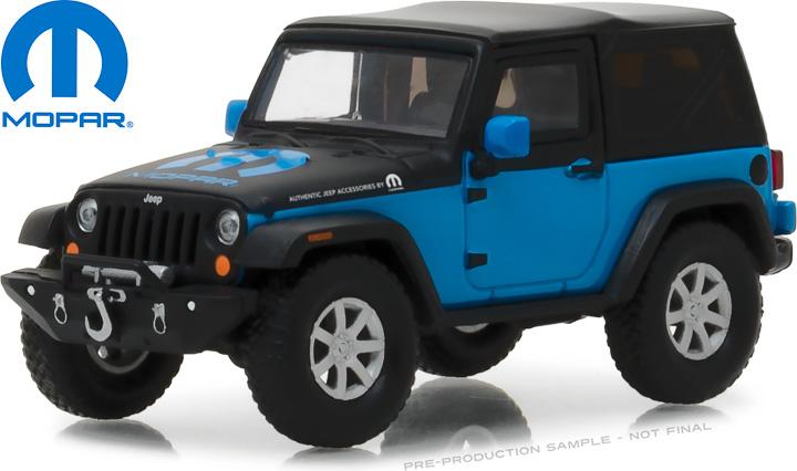 86092 - 1:43 2010 Jeep Wrangler The General Jeep Wrangler Concept