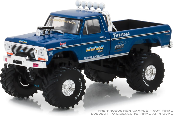 86097 - 1:43 Bigfoot #1 The Original Monster Truck (1979) 1974 Ford F-250 Monster Truck