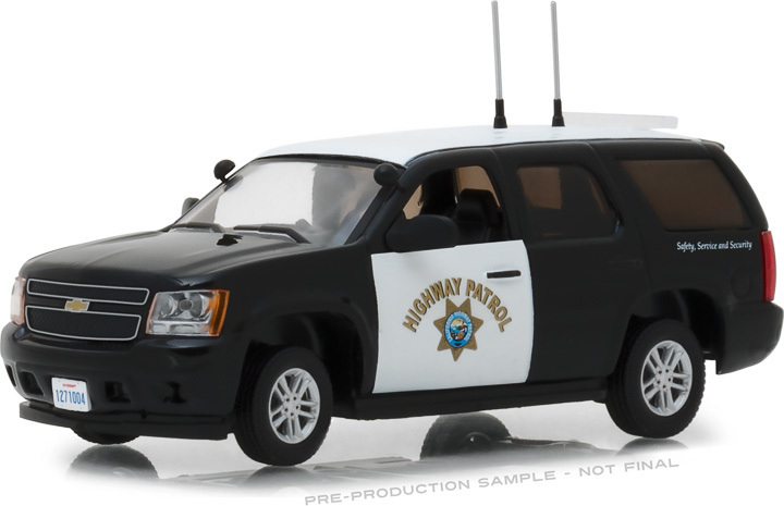 86098 - 1:43 2012 Chevrolet Tahoe California Highway Patrol