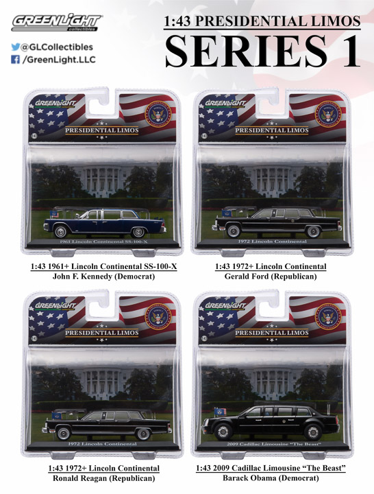 86110 - 1:43 Presidential Limos Series 1
