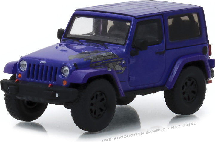 1:43 2017 Jeep Wrangler Winter Edition - Xtreme Purple