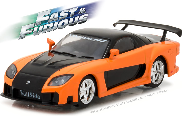 86212 - 1:43 Fast & Furious - The Fast and the Furious: Tokyo Drift (2006) - 1997 Mazda RX-7
