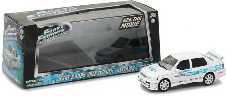 1:43 Fast & Furious - The Fast and the Furious (2001) - 1995 Volkswagen Jetta A3