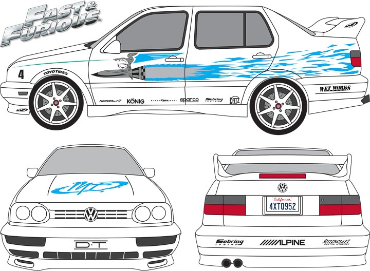 Fast And Furious Jesse Jetta Wiring Diagrams