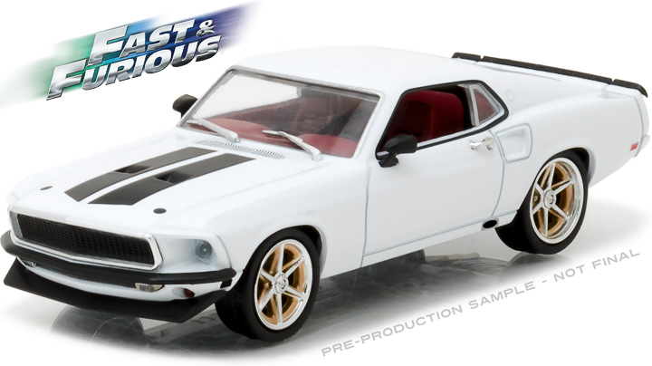 86236 - 1:43 Fast & Furious - 1969 Ford Mustang Custom