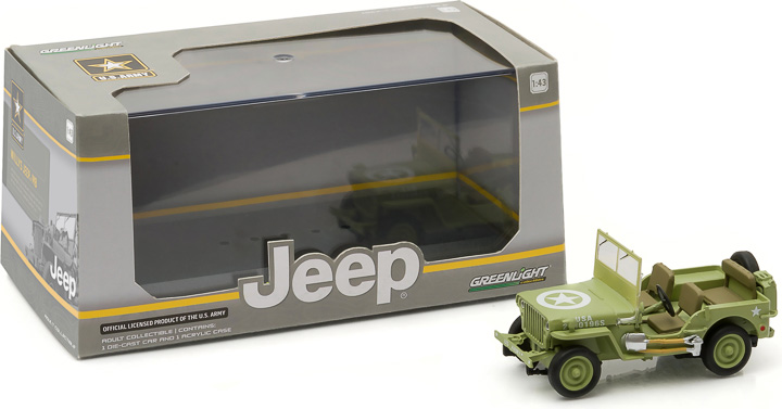 1944 Jeep C7 (Army Green, star on hood)