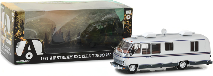 86312 - 1:43 1981 Airstream Excella 280 Turbo - 1981 Airstream Excella 280 Turbo