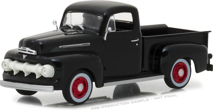 86315 - 1:43 1951 Ford F-1 - Raven Black