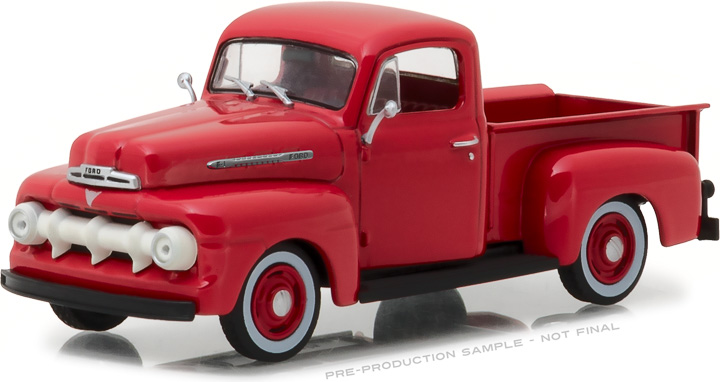 86316 - 1:43 1951 Ford F-1 - Coral Flame