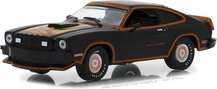 1:43 1978 Ford Mustang II King Cobra - Black & Gold
