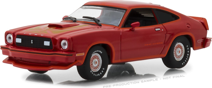 1:43 1977 Ford Mustang Cobra II - Red & Black