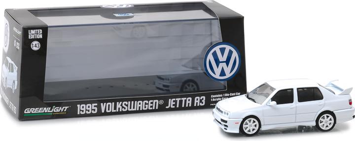 86322 - 1:43 1995 Volkswagen Jetta A3 - White