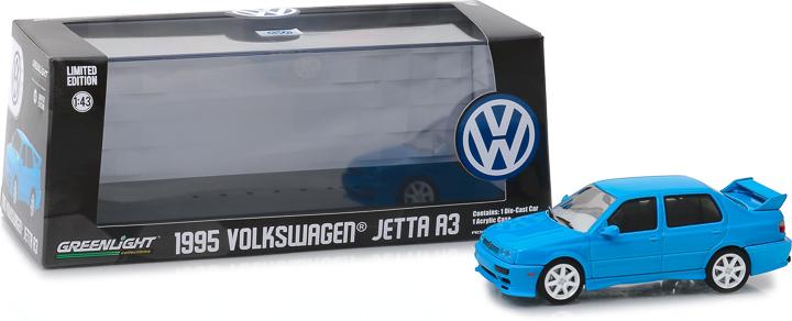 86323 - 1:43 1995 Volkswagen Jetta A3 - Blue