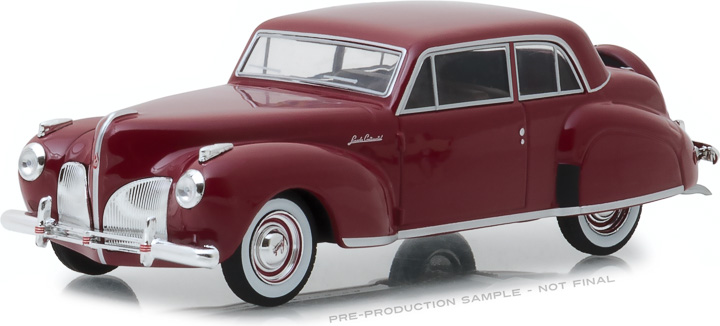 86324 - 1:43 1941 Lincoln Continental - Mayfair Maroon