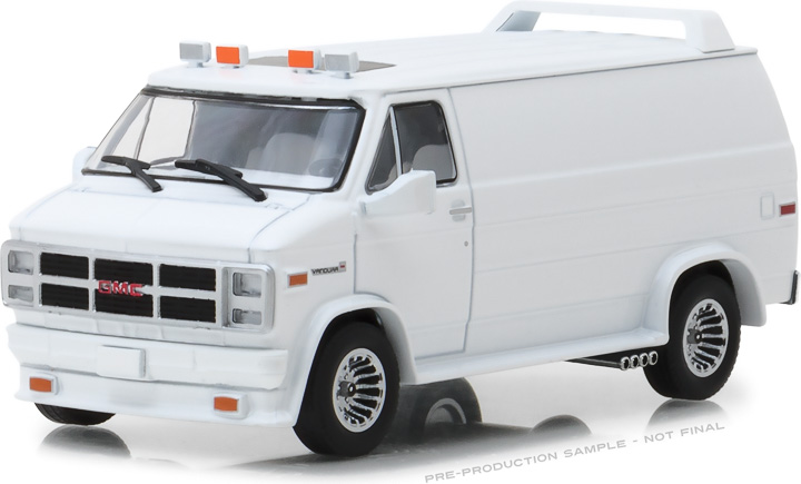 1:43 1983 GMC Vandura Custom - White