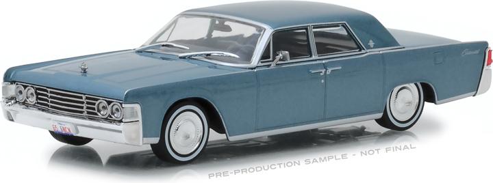 86329 - 1:43 1965 Lincoln Continental - Madison Gray Metallic