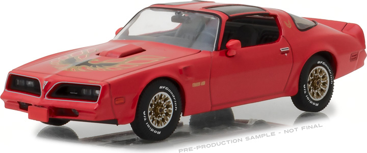 86330 - 1:43 1977 Pontiac Firebird Trans Am - Firethorn Red