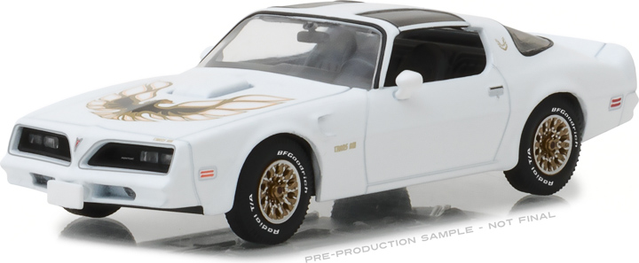 86330 - 1:43 1977 Pontiac Firebird Trans Am - Cameo White
