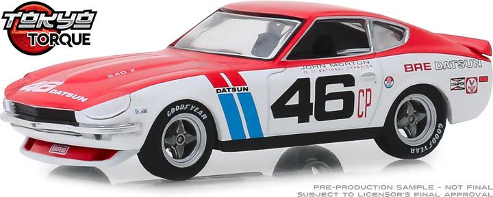 86334 - 1:43 Tokyo Torque - 1971 Datsun 240Z - #46 Brock Racing Enterprises (BRE) - John Morton