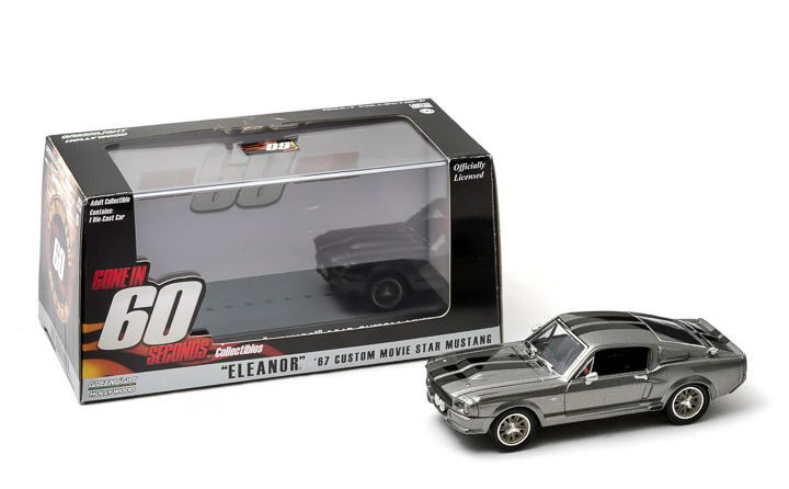 1:43 1973 Ford Mustang Mach 1 - Eleanor Gone in 60 Seconds 1974 original release