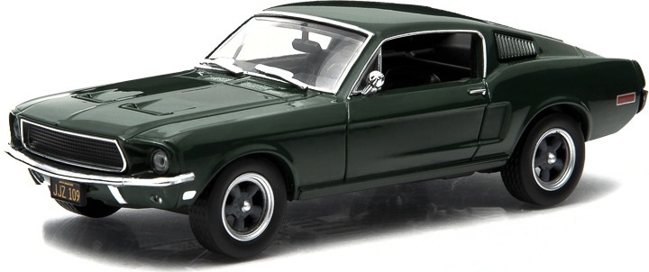 1:43 Hollywood Series 3 - Bullitt (1968) - 1968 Ford Mustang
