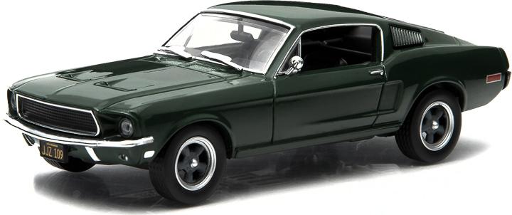 1:43 Hollywood Series 3 - Bullitt (1968) - 1968 Ford Mustang