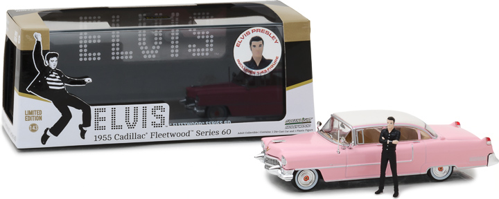 86436 - 1:43 Hollywood - Elvis Presley (1935-77) - 1955 Cadillac Fleetwood Series 60