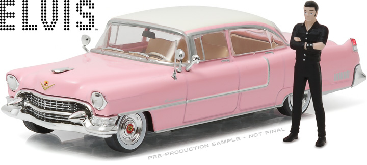 8636 - 1:43 Hollywood - Elvis Presley (1935-77) - 1955 Cadillac Fleetwood Series 60