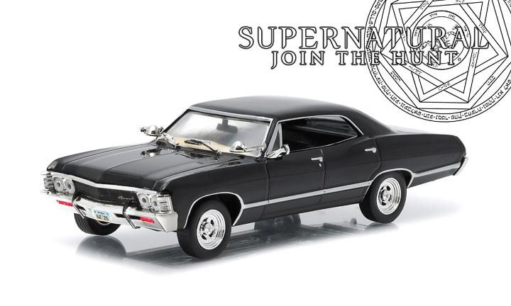 1:43 Hollywood Series 4 - Supernatural (TV Series 2005-) - 1967 Chevrolet Impala Sport Sedan