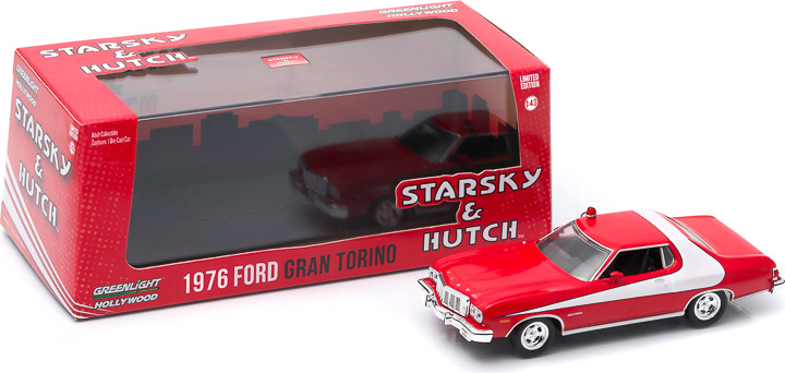 1:43 Hollywood Series 4 - Starsky and Hutch (TV Series 1975-79) - 1976 Ford Gran Torino