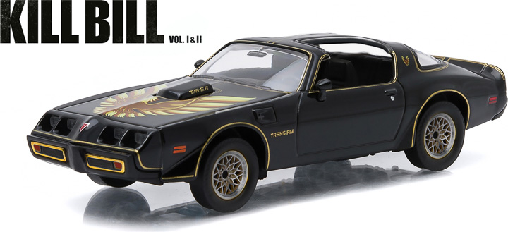 1:43 Hollywood Series 5 - Kill Bill: Vol. 2 (2004) - 1979 Pontiac Firebird Trans Am