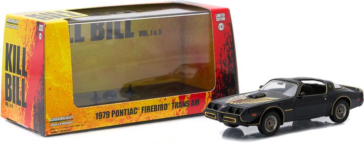 1:43 Hollywood Series 5 - Kill Bill: Vol. 2 (2004) - 1979 Pontiac Firebird Trans Am