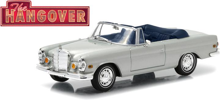 1:43 Hollywood - The Hangover (2009) - 1969 Mercedes-Benz 280 SE Convertible