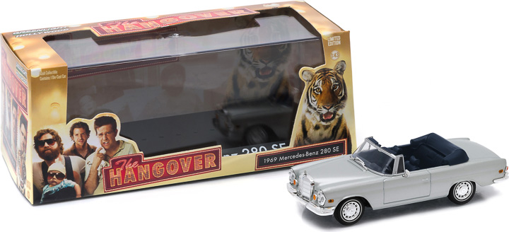 1:43 Hollywood - The Hangover (2009) - 1969 Mercedes-Benz 280 SE Convertible
