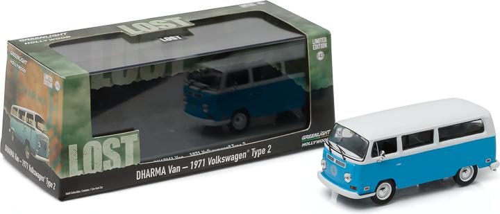 1:43 Hollywood - Lost (TV Series, 2004-10) - 1971 Volkswagen Type 2 (T2B) 'Dharma' Van