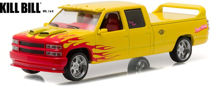 1:43 Hollywood - Kill Bill: Vol. 1 (2003) - 1997 Custom Crew Cab 'Pussy Wagon'