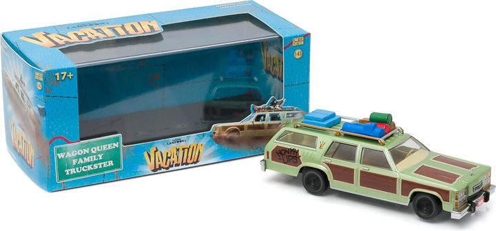 1:43 Hollywood - National Lampoon's Vacation (1983) - 1979 Family Truckster 'Wagon Queen' (Honky Lips Version)